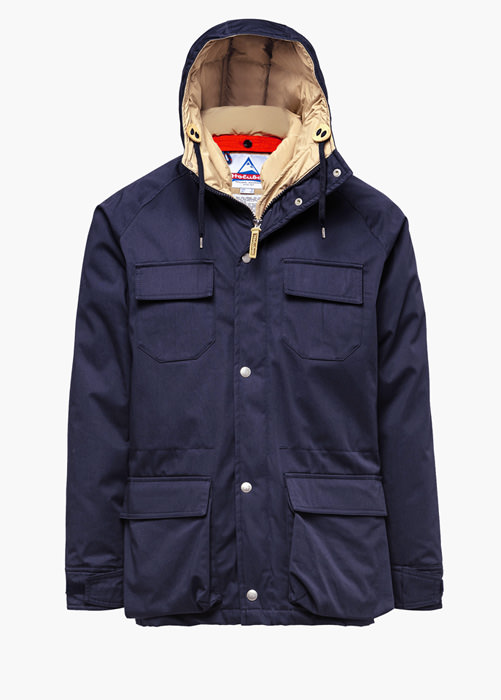 HOLUBAR: PARKA DEER HUNTER LI77 BLAU