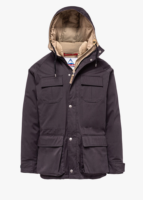 HOLUBAR: DEER HUNTER LI77 PARKA JACKET COLOR GRAY