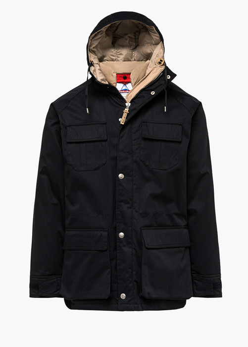 HOLUBAR: DEER HUNTER LI77 PARKA JACKET COLOR BLACK