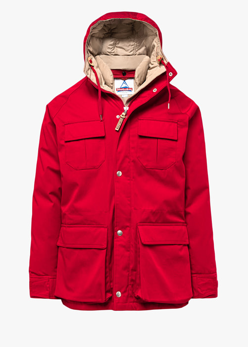HOLUBAR DEER HUNTER PARKA LI77 COLOR RED
