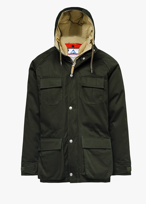 HOLUBAR PARKA DEER HUNTER LI77 GRUN