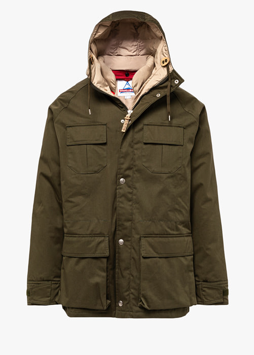 HOLUBAR: DEER HUNTER PARKA LI77 COLOR GREEN