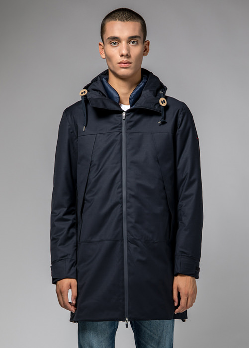 HOLUBAR DISCOVER PW90 PARKA JACKET COLOR BLU
