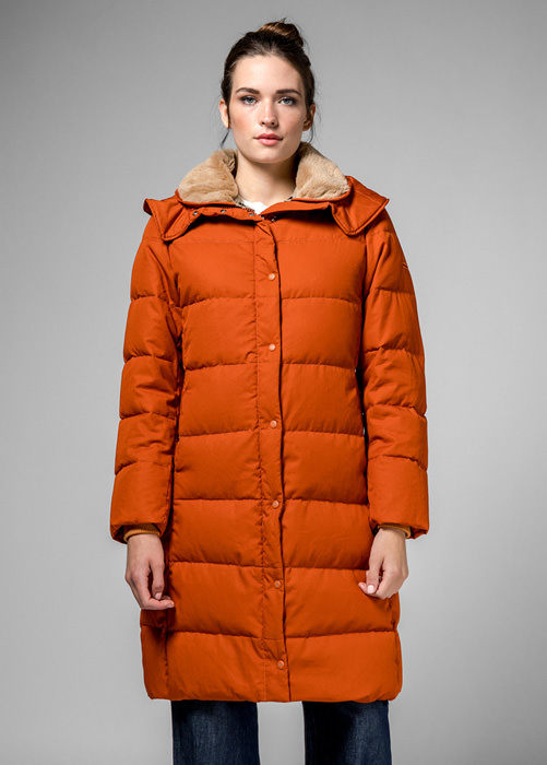 HOLUBAR: ORANGE  GRAYS  HA12  PARKA  JACKET