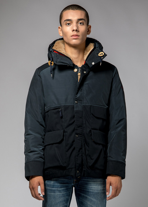 HOLUBAR: METRO MOUNTAIN PARKA JACKET NL27 COLOR BLUE