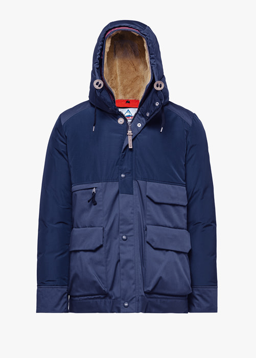 HOLUBAR METRO MOUNTAIN NL27 PARKA JACKET COLOR BLUE