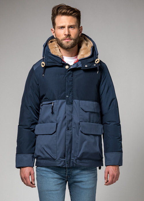 HOLUBAR: METRO MOUNTAIN PARKA JACKET NL27 COLOR DARK BLUE