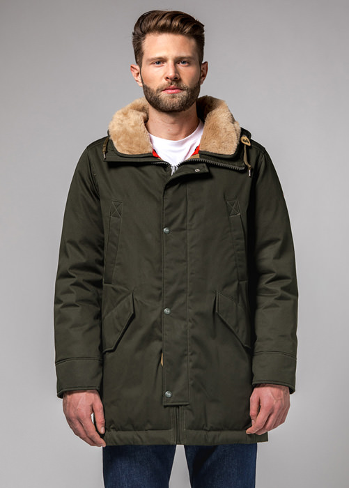 HOLUBAR: SUN VALLEY PARKA JACKET LI77 COLOR GREEN