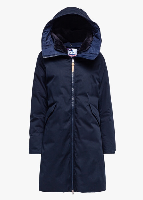 HOLUBAR: VERMILLION LI77 PARKA JACKET COLOR BLUE