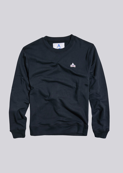 HOLUBAR SWEATSHIRT PATCH BF12 BLAU