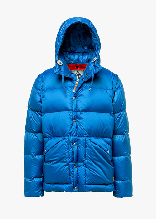 HOLUBAR: DEEP POWDER BU15 DOWN JACKET COLOR LIGHT BLUE