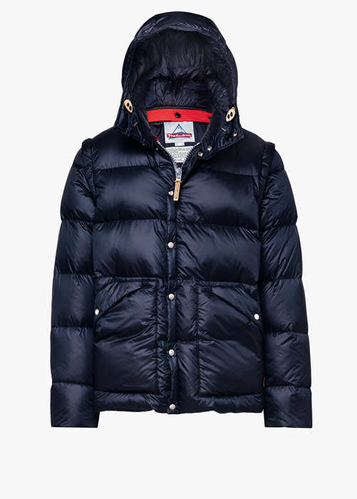 HOLUBAR DEEP POWDER BU15 DOWN JACKET COLOR BLUE