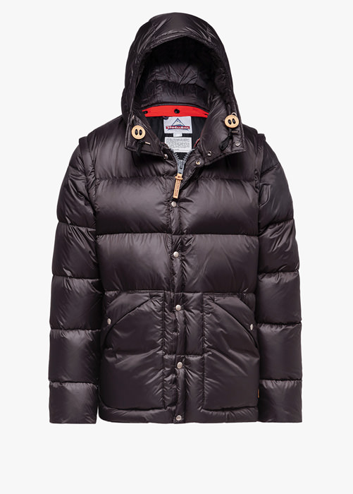 HOLUBAR: DEEP POWDER BU15 DOWN JACKET COLOR GRAY