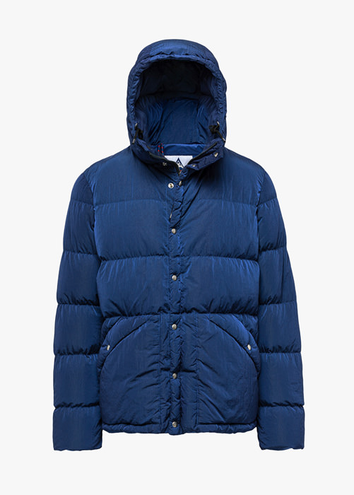 HOLUBAR: DEEP POWDER DY50 DOWN JACKET COLOR BLUE