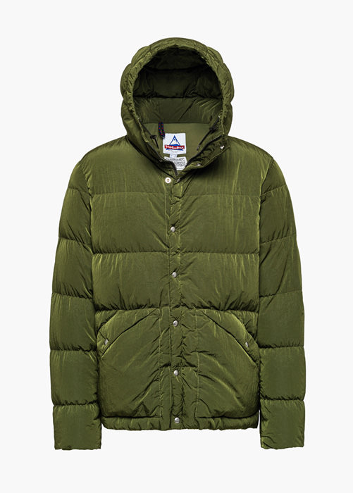 HOLUBAR: DEEP POWDER DY50 DOWN JACKET COLOR GREEN