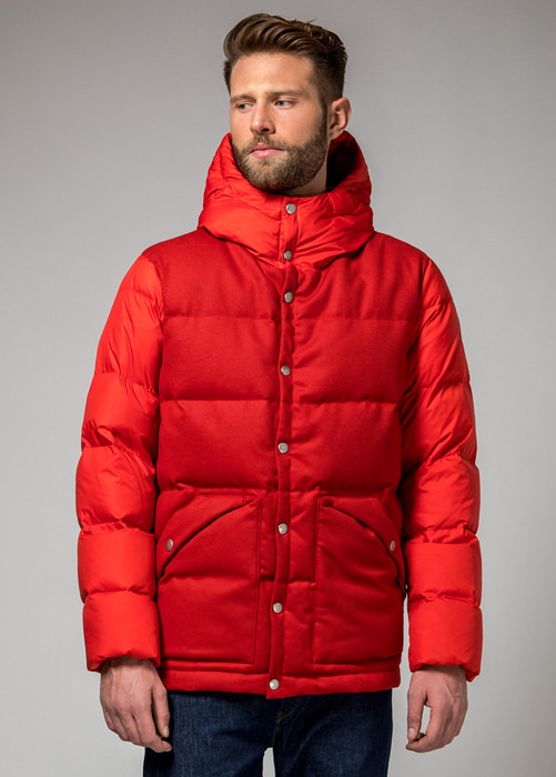 HOLUBAR: DEEP POWDER LB30 DOWN JACKET COLOR RED