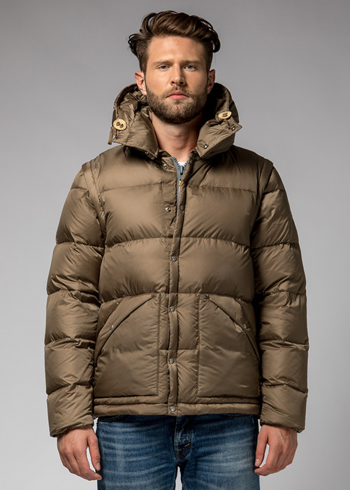 HOLUBAR: DUVET DEEP POWDER MS BU15 KHAKI
