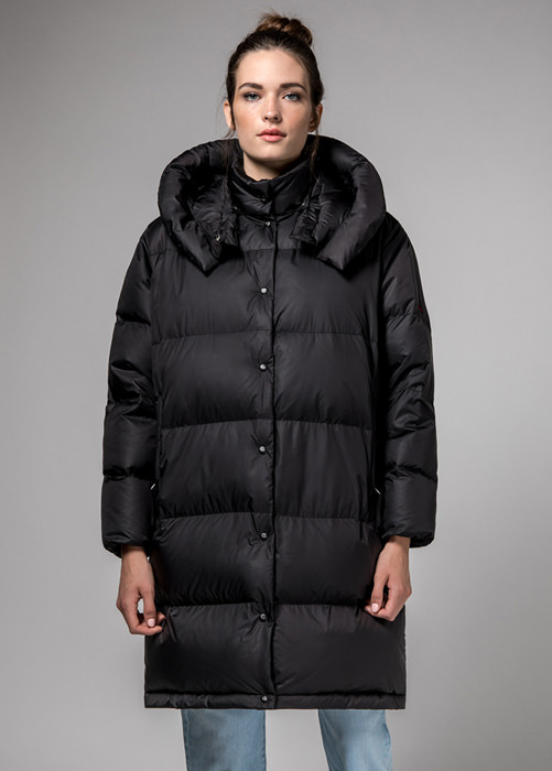 HOLUBAR BLACK  MUSTANG  BU15  LONG  DOWN  JACKET