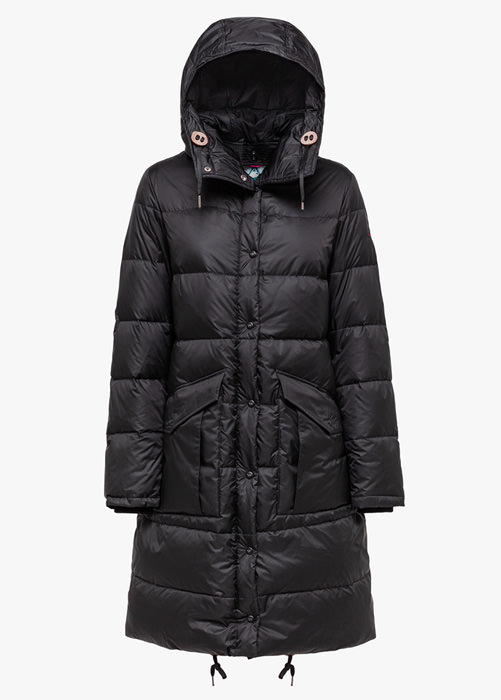 HOLUBAR: MONTANA BU15 DOWN JACKET COLOR BLACK