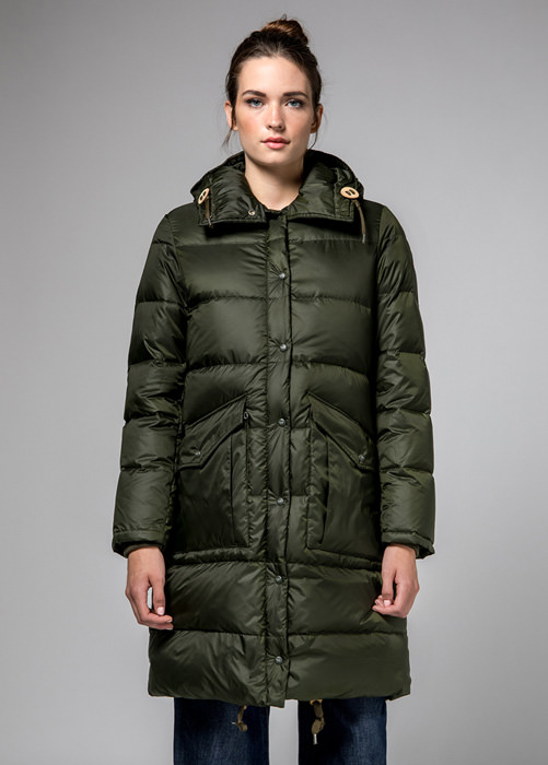 HOLUBAR: GREEN MONTANA BU15DOWN JACKET