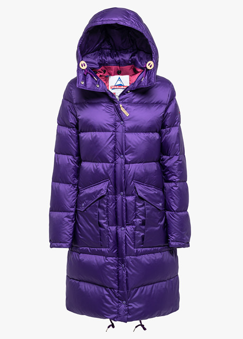 HOLUBAR: MONTANA BU15 DOWN JACKET COLOR PURPLE