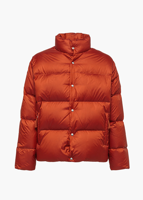 HOLUBAR: MUSTANG BU15 DOWN JACKET COLOR ORANGE