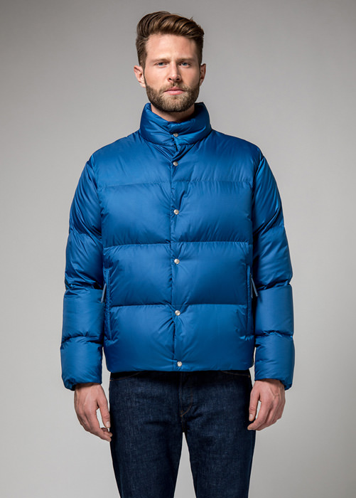 HOLUBAR: MUSTANG BU15 DOWN JACKET COLOR BLUE