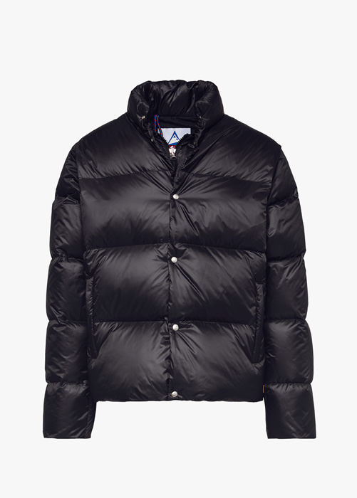 HOLUBAR: MUSTANG BU15 DOWN JACKET COLOR BLACK