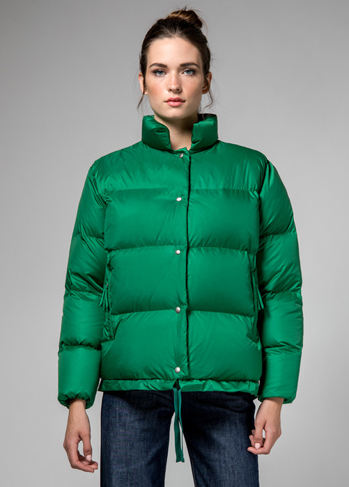 HOLUBAR: GREEN  MUSTANG  BU15  DOWN  JACKET