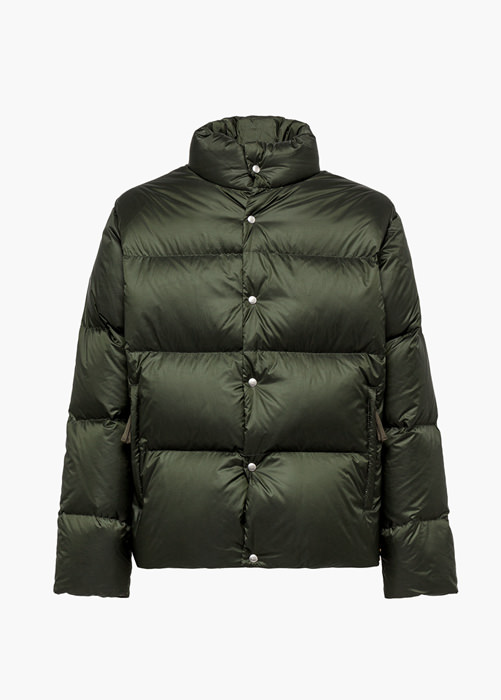 HOLUBAR MUSTANG BU15 DOWN JACKET COLOR GREEN