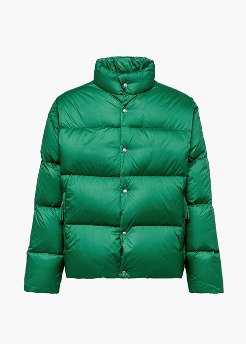 HOLUBAR: MUSTANG BU15 DOWN JACKET COLOR GREEN