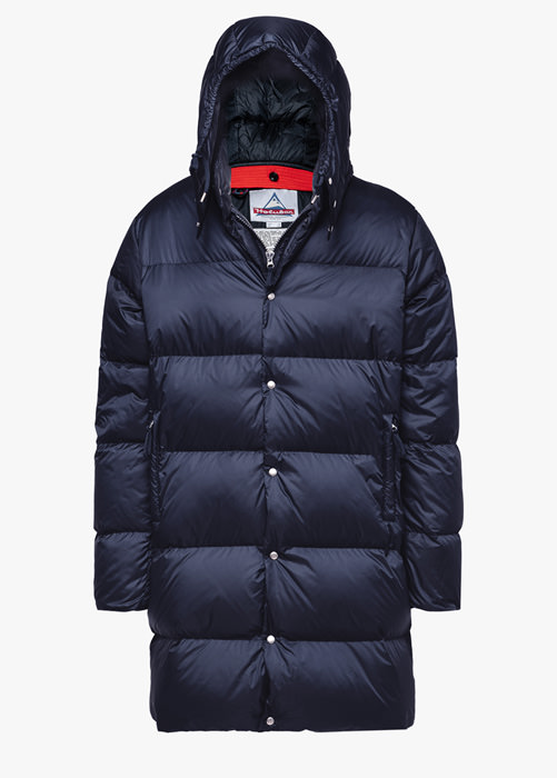 HOLUBAR: MUSTANG LONG BU15 DOWN JACKET COLOR BLUE