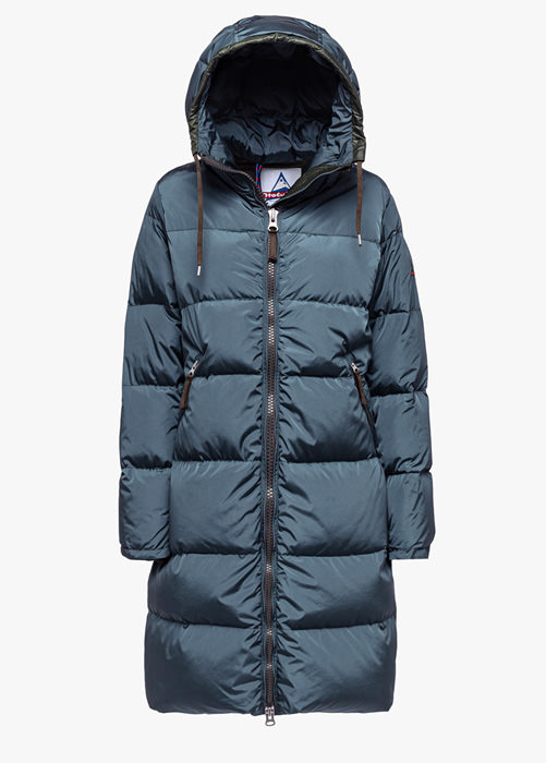 HOLUBAR: NEW MONTANA HE50 DOWN JACKET COLOR GREEN