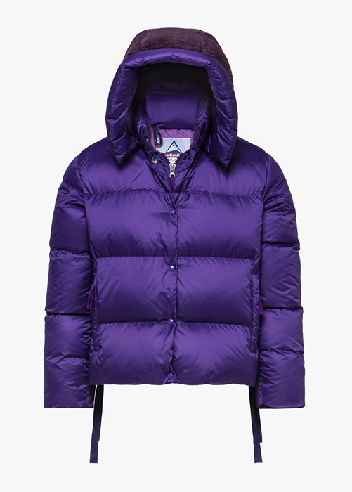 HOLUBAR: PUNKY MUSTANG BU15 DOWN JACKET COLOR PURPLE