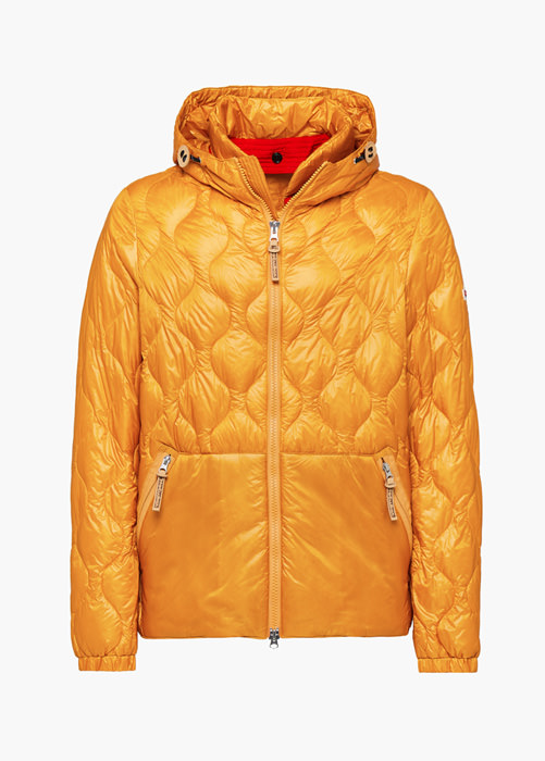 HOLUBAR: SILVA NC20 DOWN JACKET COLOR ORANGE