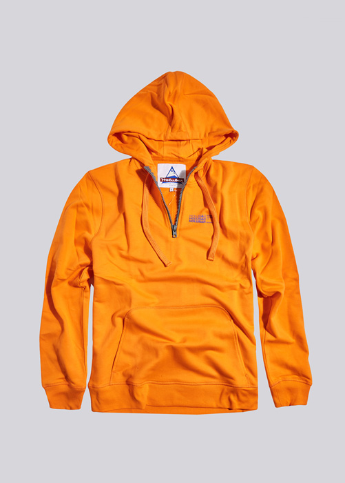 HOLUBAR: SWEATSHIRT HOODY BF12 ORANGE