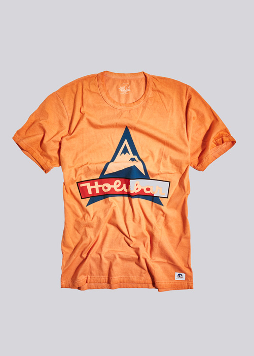 HOLUBAR T-SHIRT SEQUOIA CT10 ORANGE