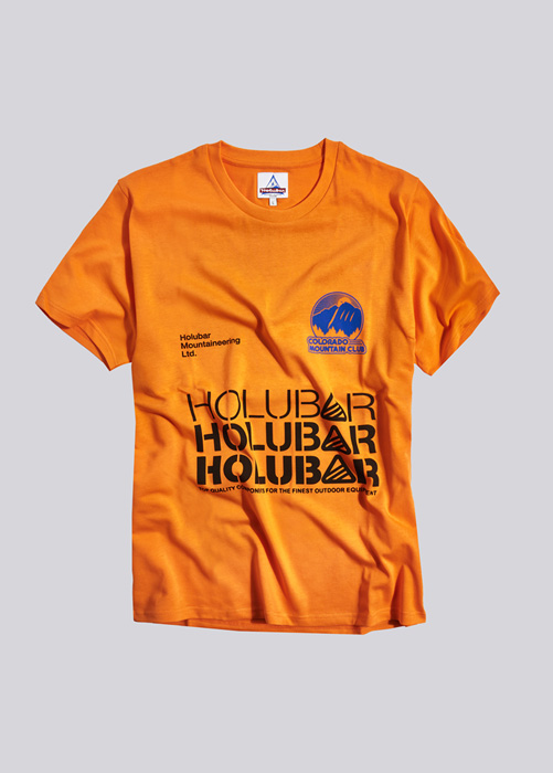 HOLUBAR: T-SHIRT C-M-C JJ23 ORANGE