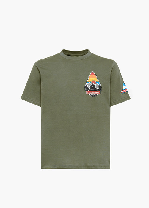 HOLUBAR HUNTER GREEN JJ20 CREEK T-SHIRT