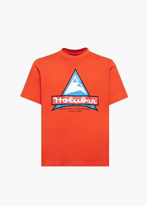 HOLUBAR ORANGE JJ20 LOGO T-SHIRT