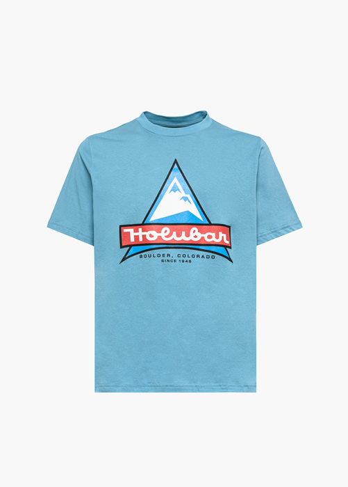HOLUBAR LIGHT BLUE JJ20 LOGO T-SHIRT