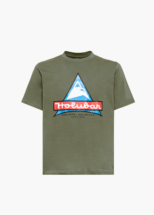 HOLUBAR HUNTER GREEN JJ20 LOGO T-SHIRT