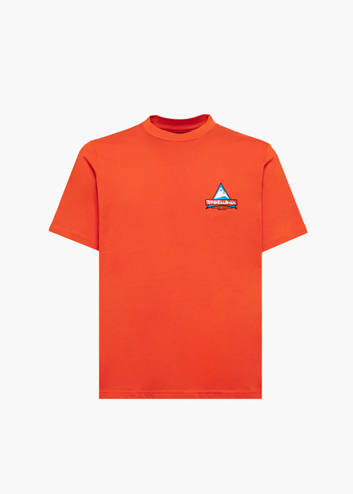 HOLUBAR T-SHIRT MOUNTAIN 2 JJ20 ORANGE
