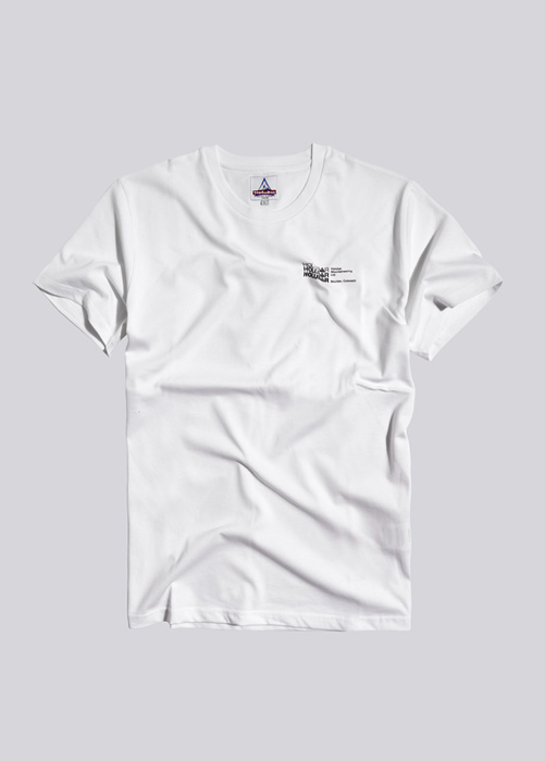 HOLUBAR T-SHIRT SMALL LOGO JJ23 WHITE